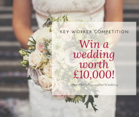 Blog entry Key Worker Competition to Win a wedding at Winchester Guildhall