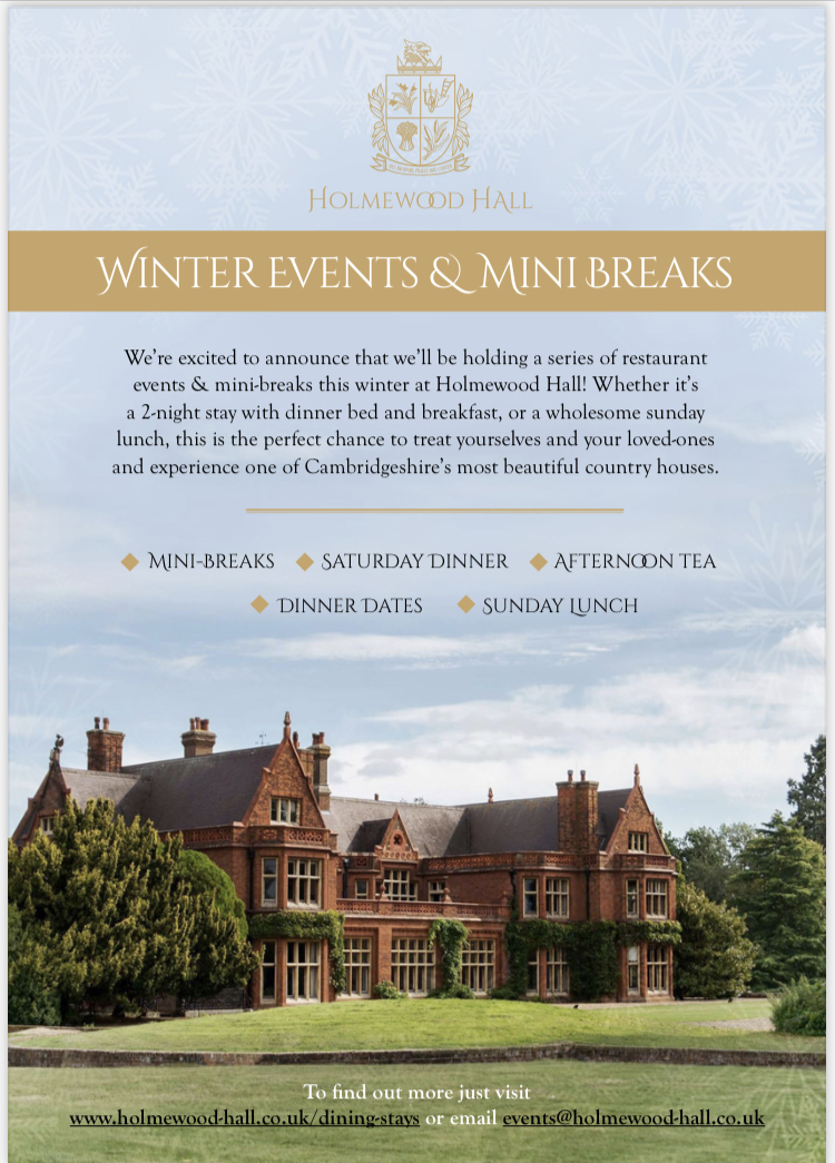 Holmewood Hall Winter Escapes