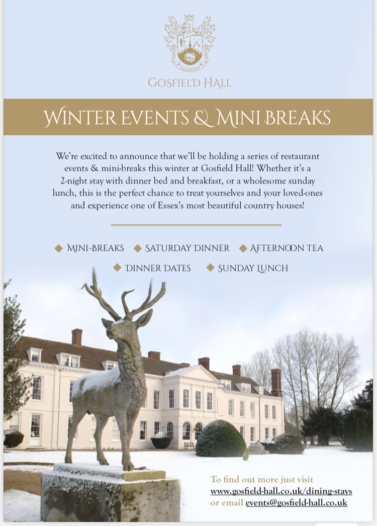 Gosfield Hall Winter Escapes