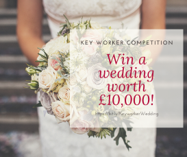 Key Worker Competition to Win a wedding at Winchester Guildhall