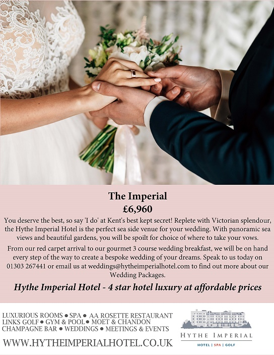 Affordable luxury at the 4 star Hythe Imperial Hotel