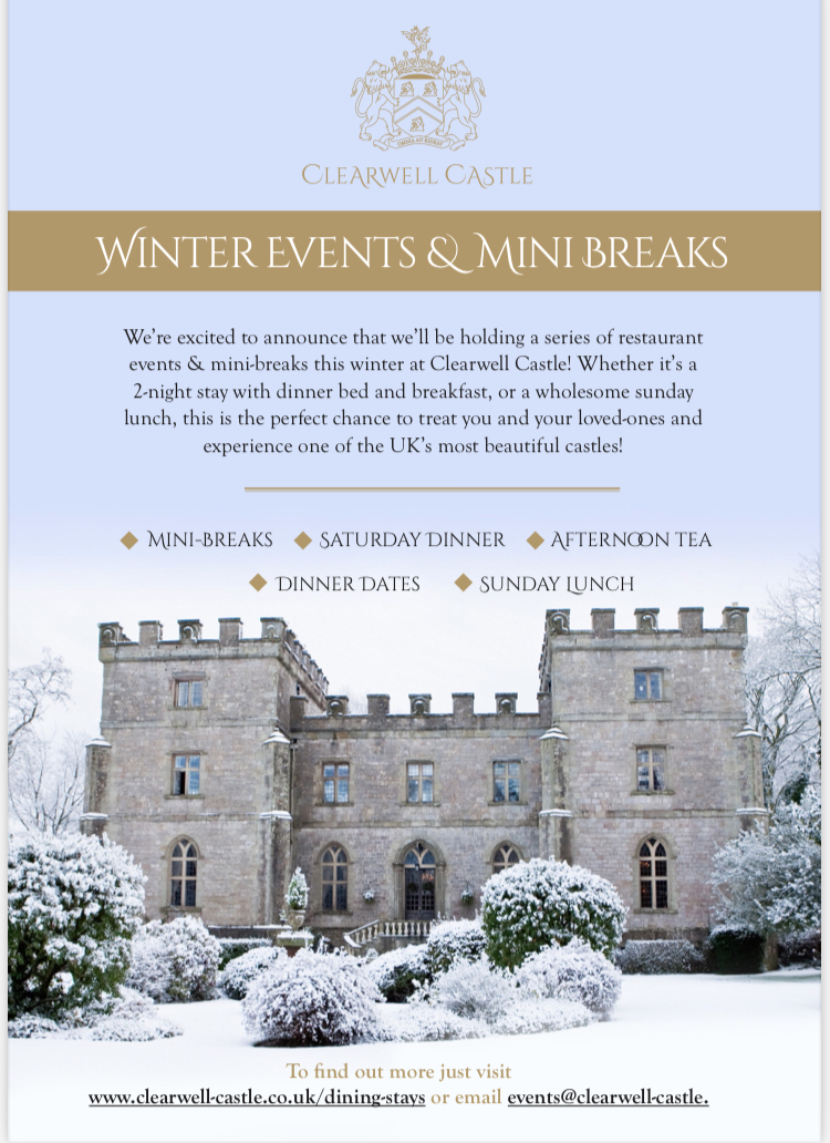Clearwell Castle Winter Escapes