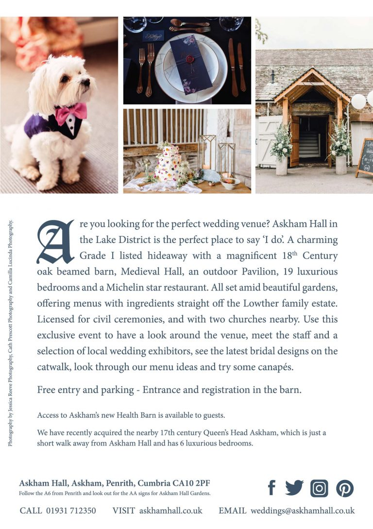 Askham Hall Wedding Venue Showcase