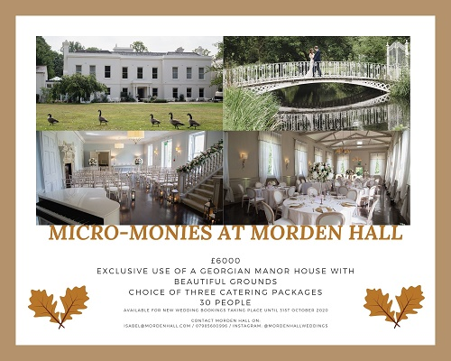 Micro-monies at Morden Hall