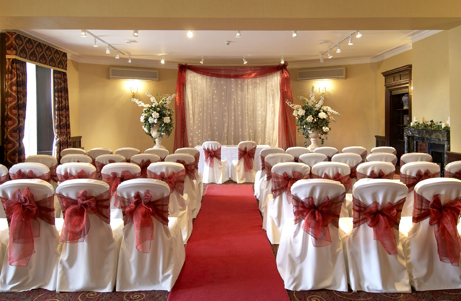 Terrace Suite perfect setting for your ceremony