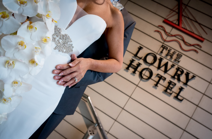 Weddings at The Lowry Hotel