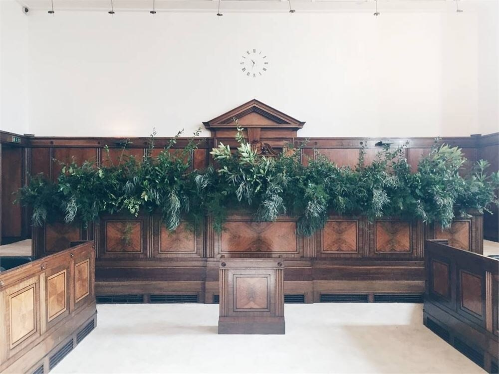 The beautiful oak panelled Council Chamber for your ceremony