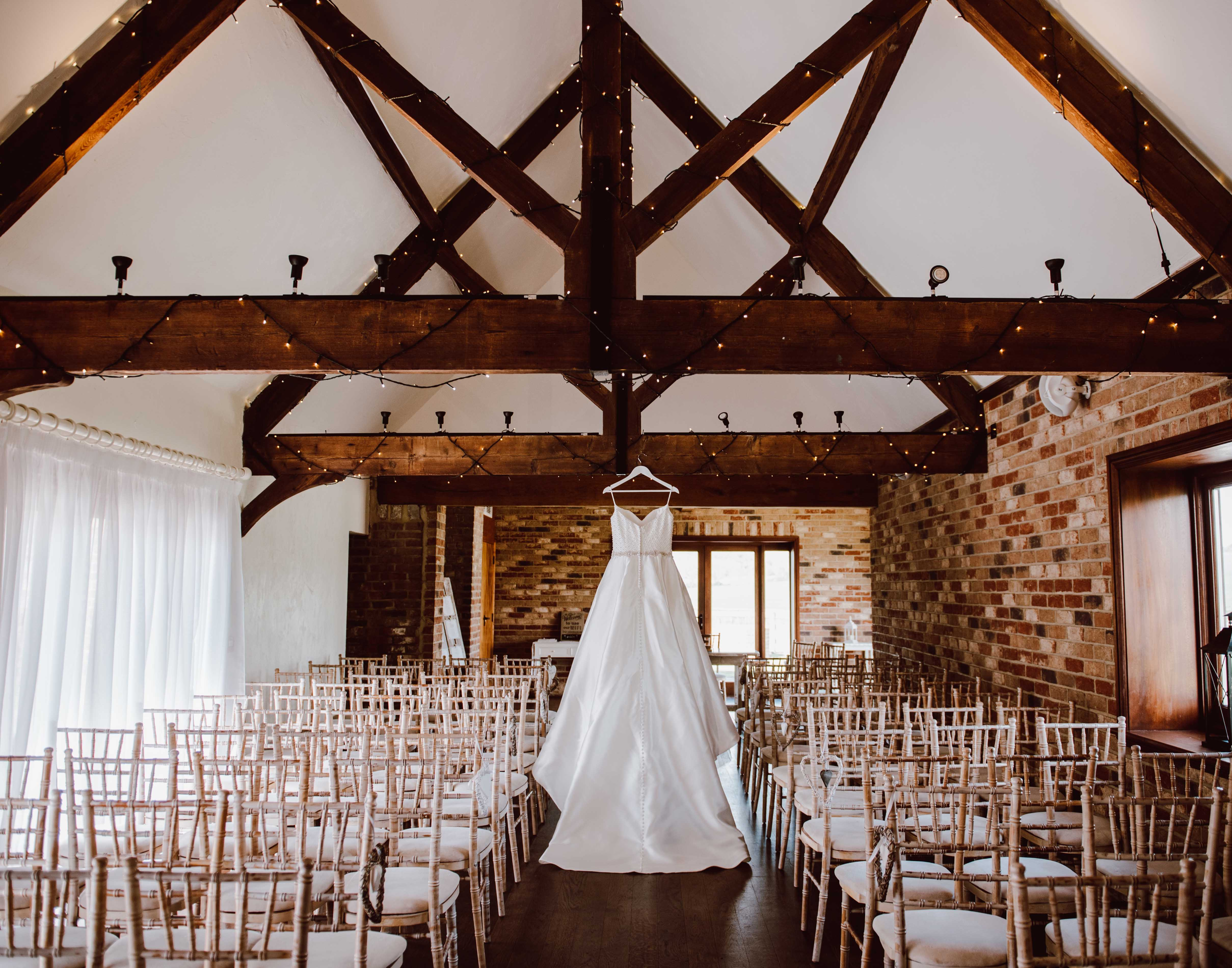 Our beautiful Cartshed, the perfect ceremony barn for all seasons