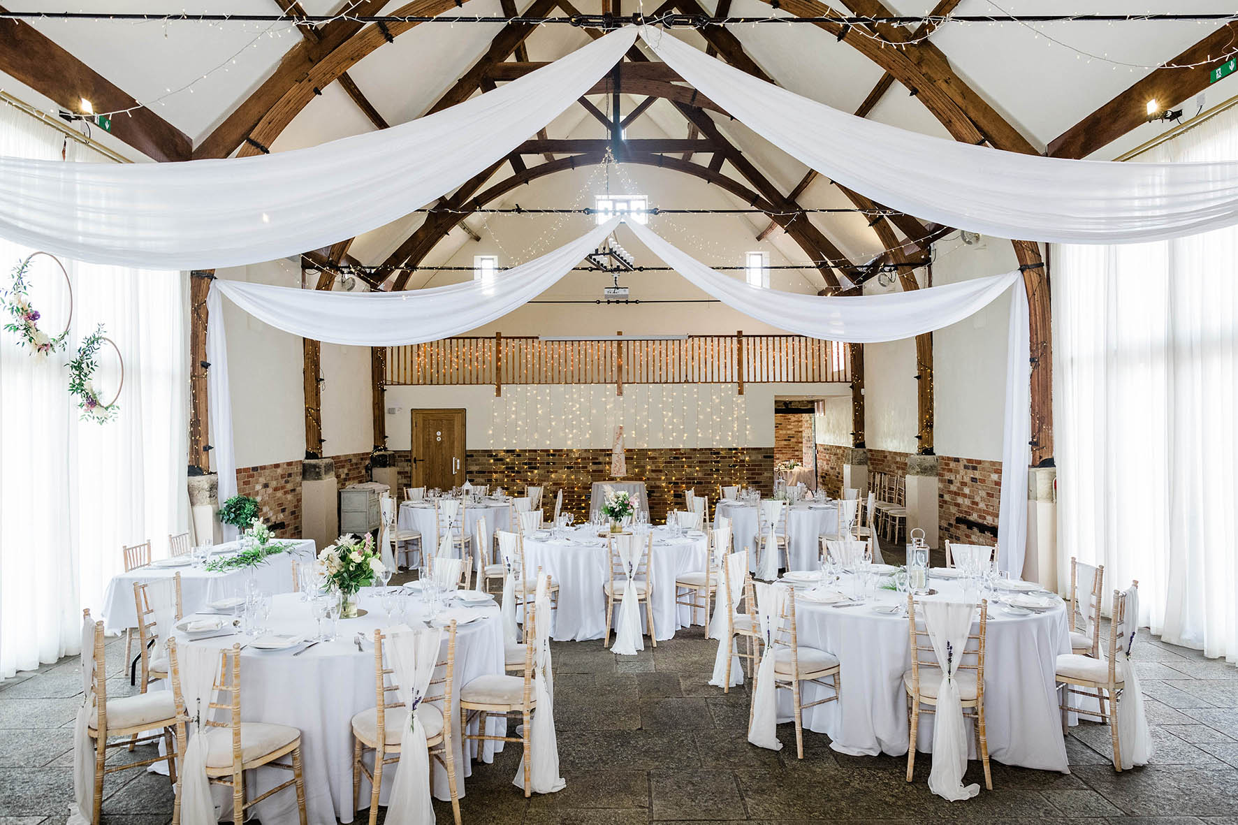 Dreamy Drapes in our Granary