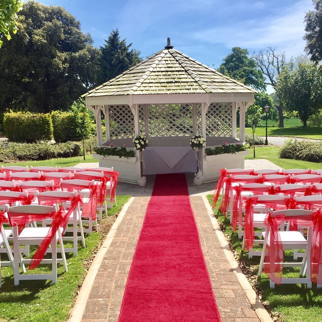 Pagoda perfect outdoor setting for your ceremony