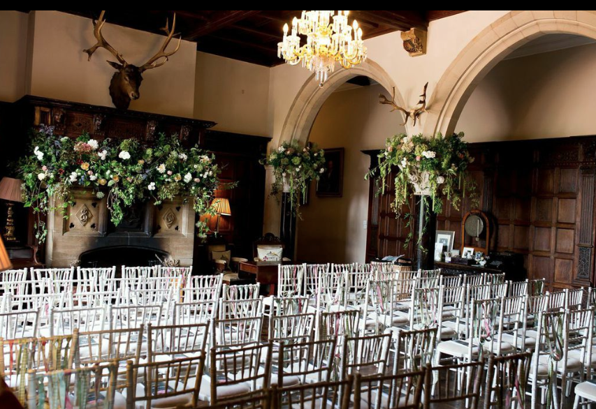 Huntsham Court - indoor and outdoor ceremonies.
