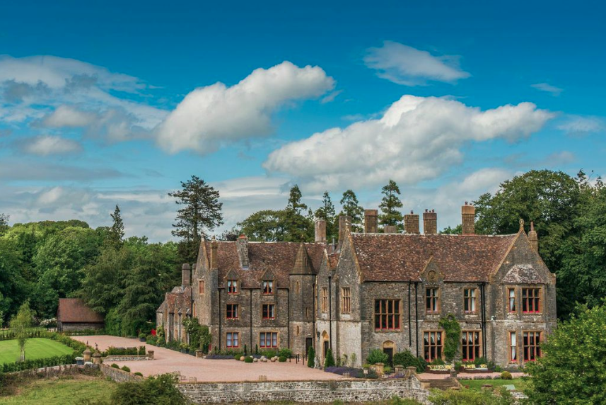 Huntsham Court - View from the driveway.