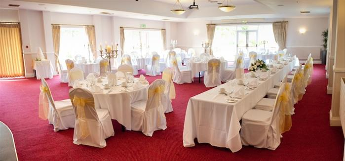 bristol golf club wedding room layout