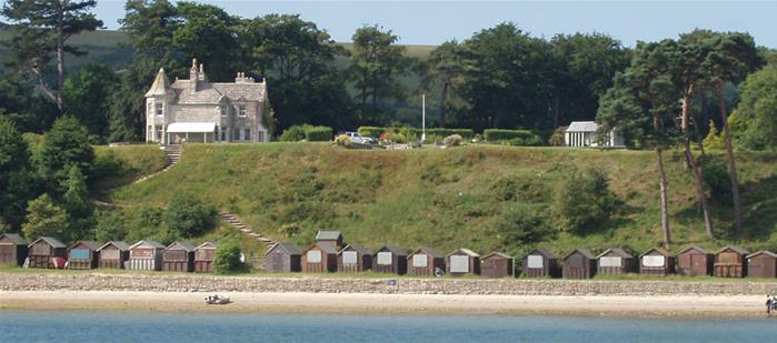 Harry Warren House from Studland Bay