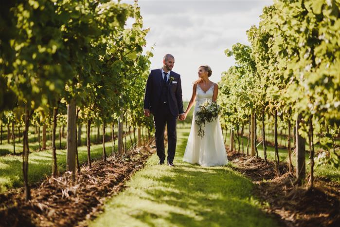 Aldwick Estate Vineyard. Photography by Sam Gibson Photography.