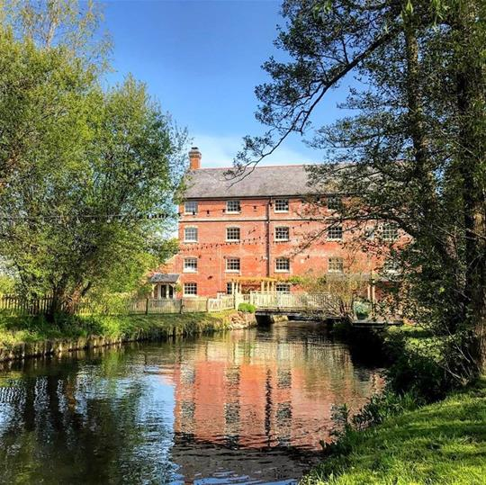 Sopley Mill and the River Avon