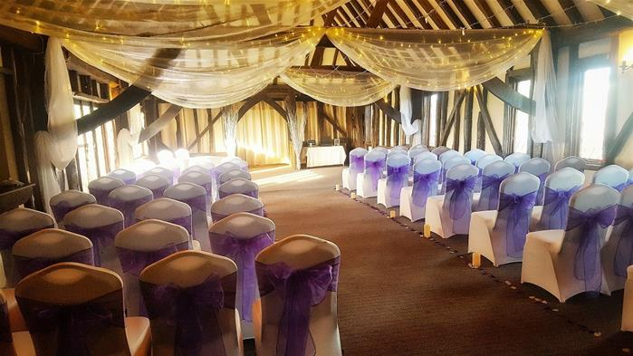 sunbury golf room layout wedding venue