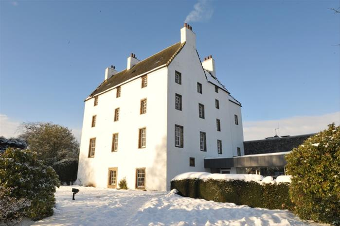Houstoun House in the snow
